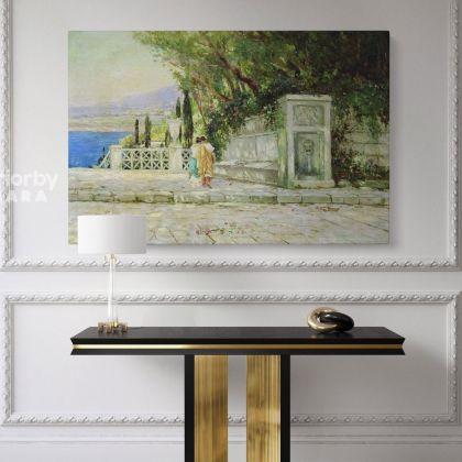 Famous Henryk Hector Siemiradzki Paintings Photo Print Canvas