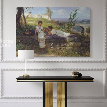 Talisman Painting by Henryk Hector Siemiradzki Photo Print on Canvas