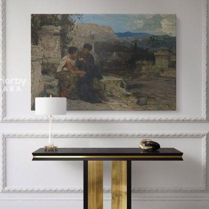 Hector Siemiradzki Polish Painter Monumental Academic Art Print on Canvas