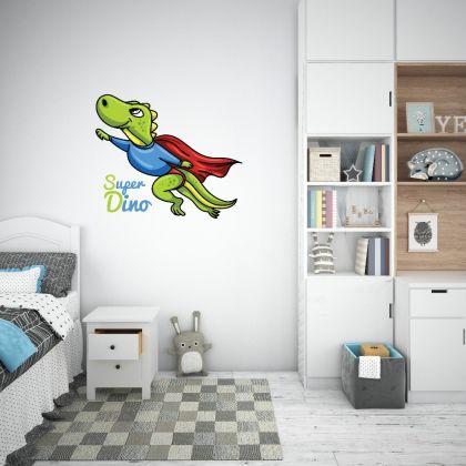 Superdino Flying Dinosaur Wall Decal for Kids Room Jurassic Park
