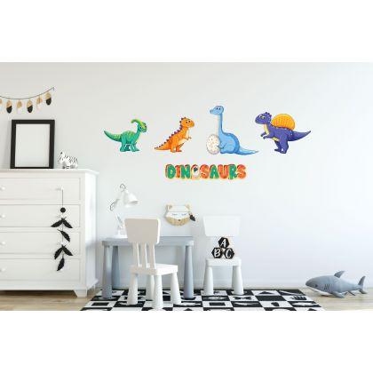 Dinosaur Wall Decal for Kids Room Jurassic Park