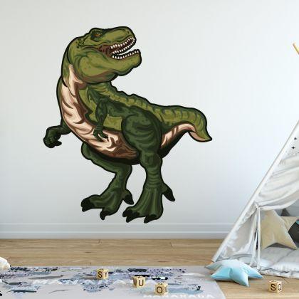 Trex Dinosaur Wall Decal for Kids Room Jurassic Park- Dino peel&stick wall sticker, Dinosaurs Jurassic Park
