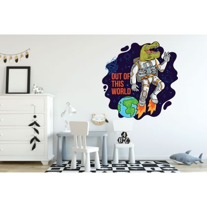Out of this World Dinosaur Wall Decal for Kids Room Jurassic Park