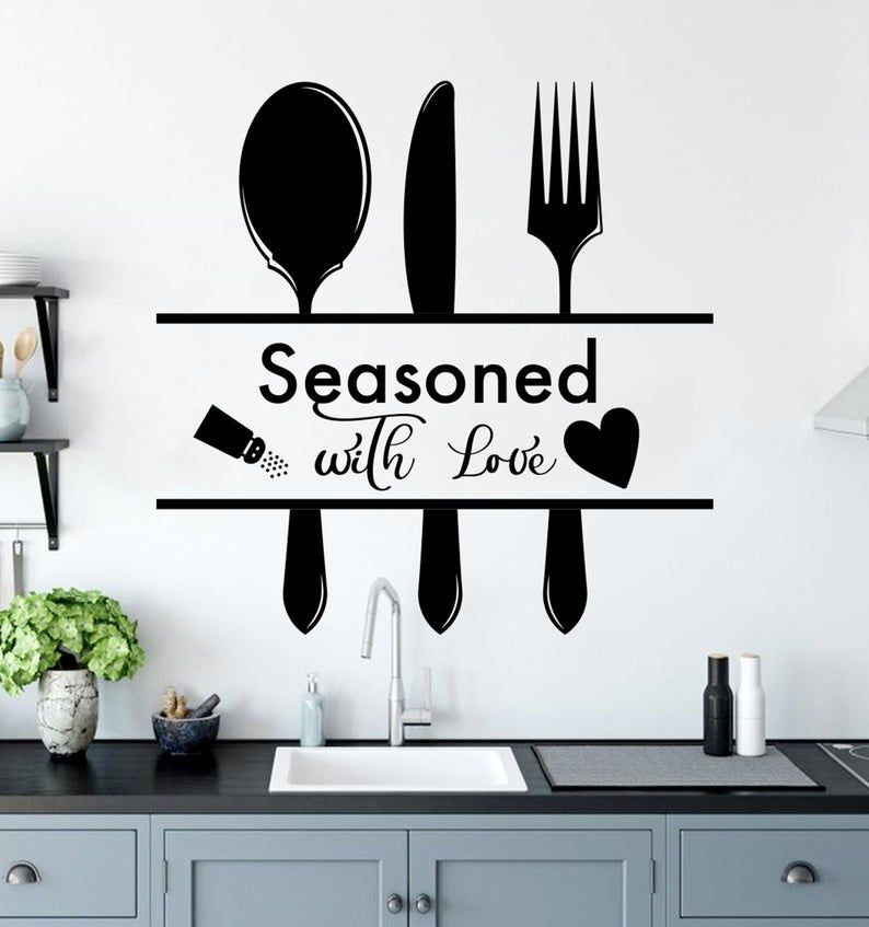 Kitchen Quote Wall Decor For Home Art Decal