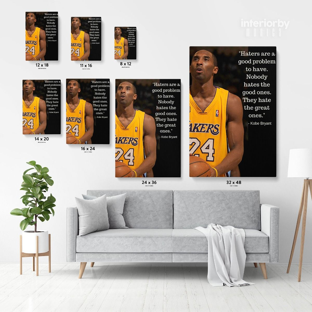 Kobe Bryant  Mamba Wall Tapestry Kobe Bryant Basketball Sport 60 x 40