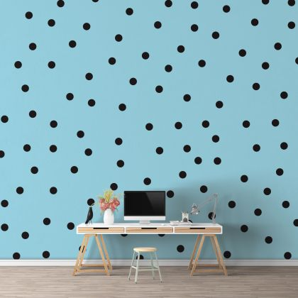 Giant Polka dot Wall Decals Pattern Vinyl Wall Sticker