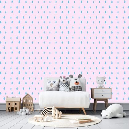 Hand Drawn Polka dot Wall Decals Pattern Vinyl Wall Stickers