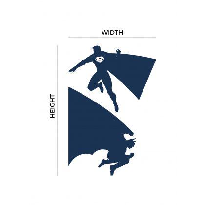 Batman vs Superman Vinyl Wall Stickers