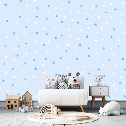 Mixed Colour Star Wall Decals Pattern Vinyl Wall Wall Sticker