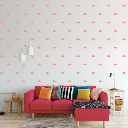 Cloud Wall Decals Pattern Vinyl Wall Wall Sticker