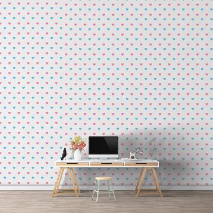 Heart Wall Decals Pattern Vinyl Wall Wall Art