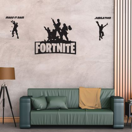 Fighting Fortnite Vinyl Wall Sticker