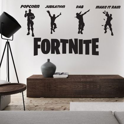 Shadow Moves Dance Fortnite Vinyl Wall Sticker