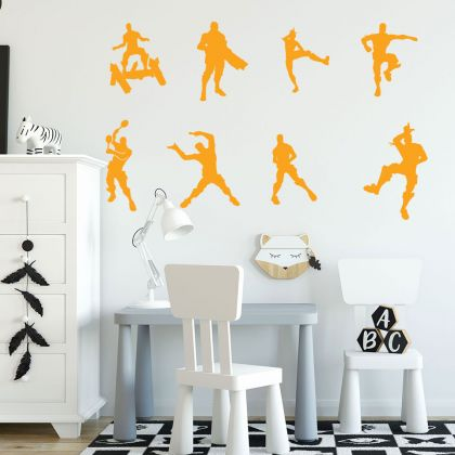 Dancing Fortnite Vinyl Wall Sticker