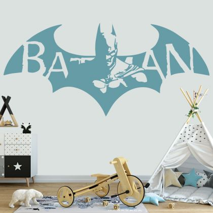 Flying Batman Vinyl Wall Sticker