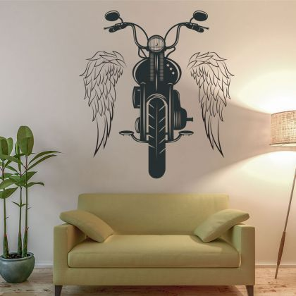 I am the Rock Bike Vinyl Wall Stickers