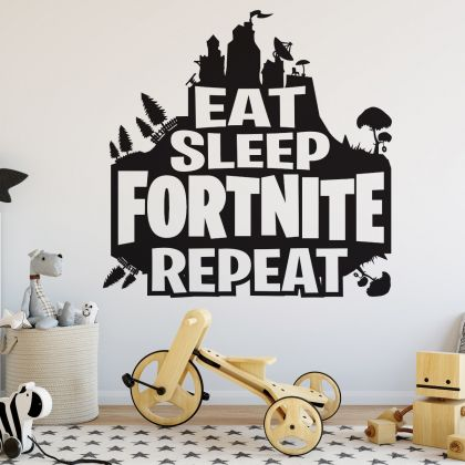 Gaming Room Wall Decal Vinyl Sticker for Boys Gaming Room Vinyl Decal