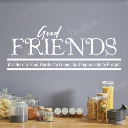 Good Friends Kitchen Wall Decals for Kitchen Wall Stickers
