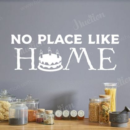 No Place like Home Wall Decals for Kitchen Wall Stickers