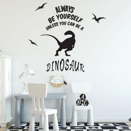 Dinosaur Wall Stickers for Dinosaur Wall Decals for Nursery and Kids Room
