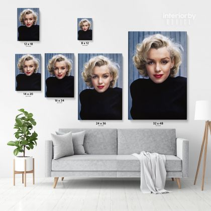 Marilyn Monroe Actress Canvas American Model Wall Artwork Hangings