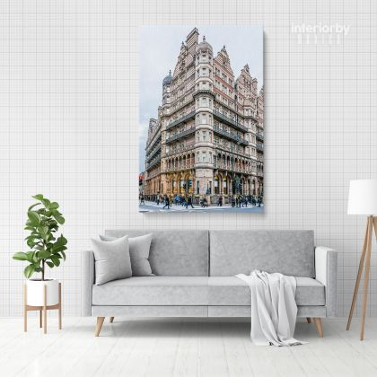 Portrait Russell Square Park in London England Canvas with Frame / Roll Home Decor Living Room Bedroom Wall Hangings Wall Artwork Mural Gift