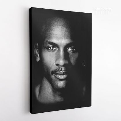 Michael Jordan Basketball Canvas with Frame or Rolled Canvas Kids room Gaming Zone Home Decor
