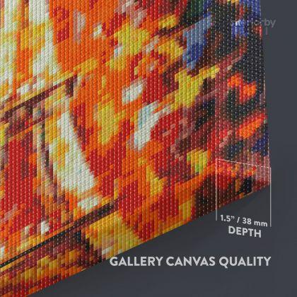 Mosaic Art Eiffel Tower Mosaic Artwork Print Poster Canvas or Rolled Canvas Photo Print Modern Wall Art