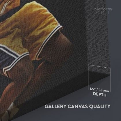 Kobe Bryant Basketball Player Photo Print Canvas or Rolled Last Game Mamba Mentality Sports Canvas