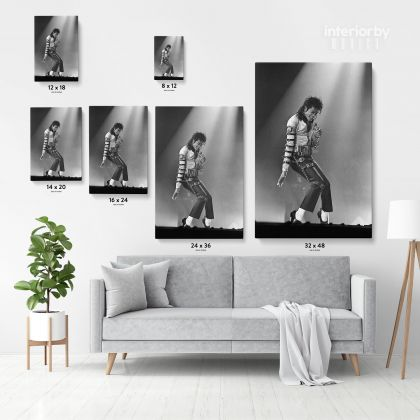 Michael Jackson Personalised Poster Canvas Mural Wall Art