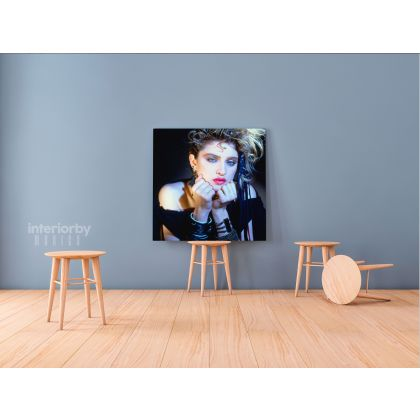 Modanna Print Poster in Canvas Wall Painting Canvas