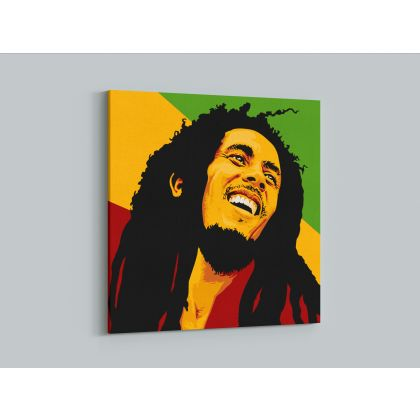 Bob Marley Artwork Painting Poster Print Canvas Bob Marley Art Canvas