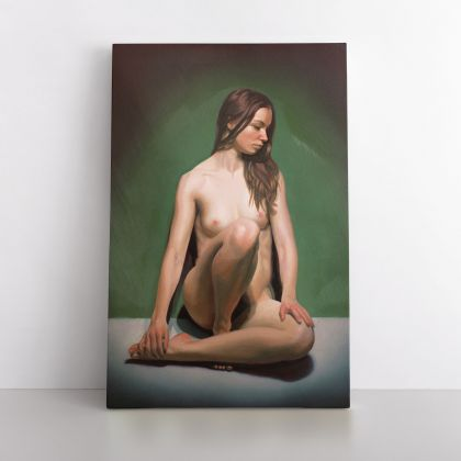 Naked Women Painting by Famous Owen Claxton Photo Print on Canvas Home Decor Wall Mural Hangings Gift
