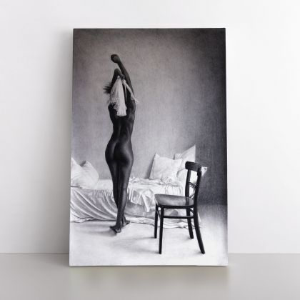 Naked Women Painting by Famous Owen Claxton Photo Print Canvas Home Decor Wall Mural