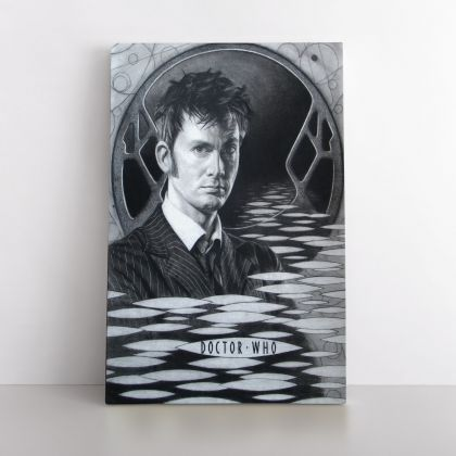 Doctor WHO Painting by Famous Owen Claxton Photo Print on Canvas Home Decoration Wall Mural Hanging Gift