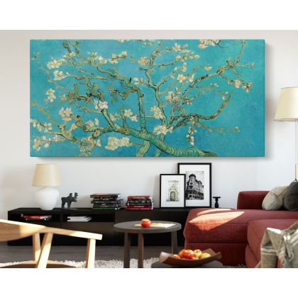 Vincent Van Gogh Almond Blossom Canvas Painting Photo Print Posters Home Decor Bedroom Wall Mural