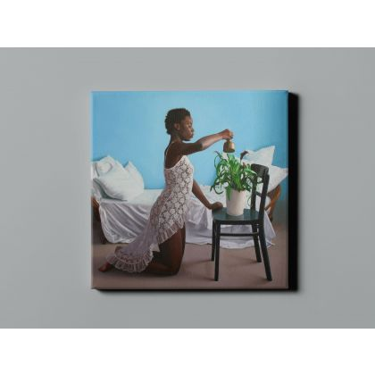Artworks by Owen Claxton Photo Print on Canvas Nude Girl