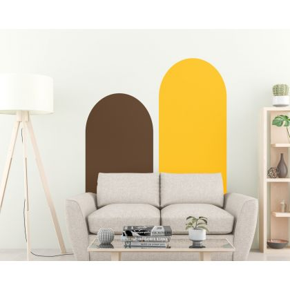 Set of 2 Boho Arches Wall Decal 2 Colour Arches Nursery Wall Stickers