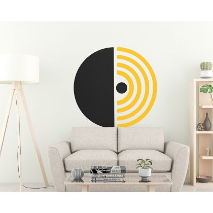 Half Circle & Boho Arch wall Decal Abstract Wall Stickers