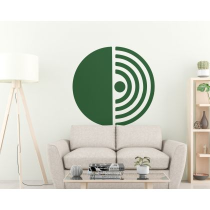 Abstract Boho Wall Stickers Half Circle & Arch wall Decal