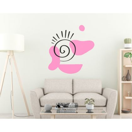 Boho Abstract Shapes Wall Decals Removable Wall Decor