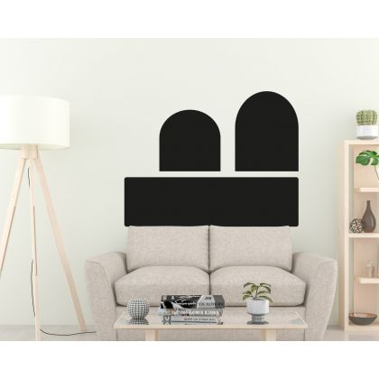 Abstract Boho Arches wall Decal Geometric Wall Art