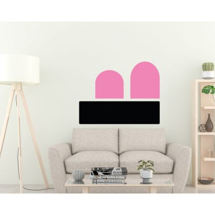 Boho Geometric Arches wall Decal Abstract Wall Stickers