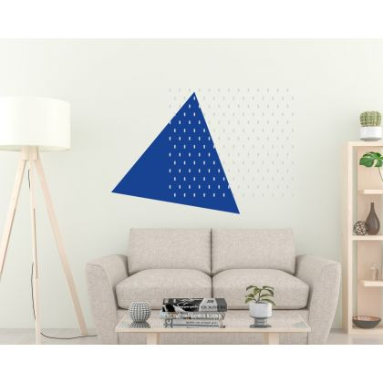Geometric Wall Stickers Long Polka Dots Pattern Wall Decals
