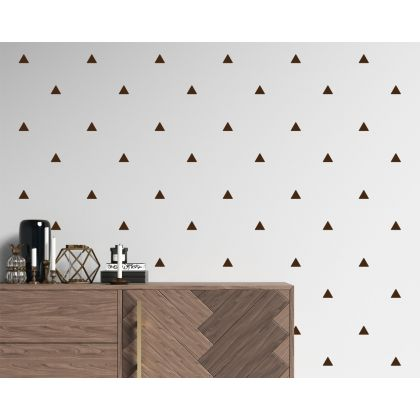 Triangle Geometric Pattern Wall Decals Nursery Decor