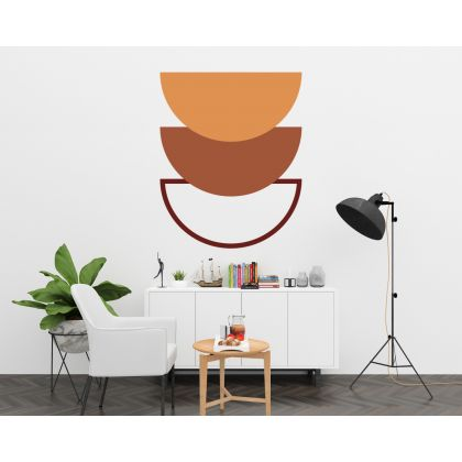 Half Circle Boho Arch wall Decal Abstract Wall Stickers