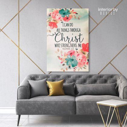 Holy Bible Verse Art Canvas Office Decals Quote Bible Verse Art Canvas