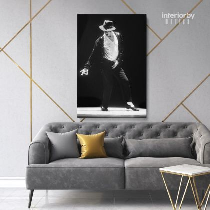 Michael Jackson Poster Canvas Personalised MJ Singer Lover Music on Canvas