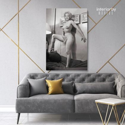 Marilyn Monroe American Model Naked Wall Artwork Hangings Canvas