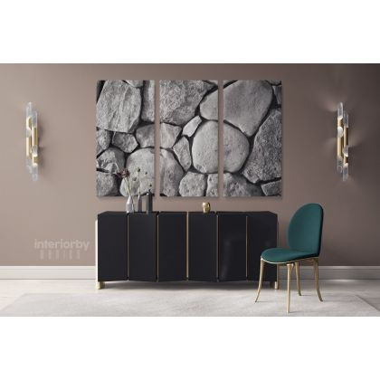 Nature Stone Canvas Wrap Abstract Photography with Frame / Roll Modern Print Poster Living Room Bedroom Mural Gift Wall Hangings
